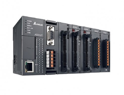 Programovanie PLC DELTA radu AS (Programmable logic controller)